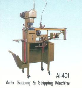 AUTO GAPPING & STRIPPING MACHINE